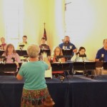 Awesome Bell Choir (rehearsing)