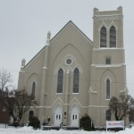 Beautiful Church at the end of the long winter of 2014
